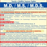 SRMU MD MS MCh NEURO SURGERY (6 Years) MDS DEGREE COURSES