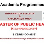 Master of Public Health (Field Epidemiology) ACADEMIC SESSION 2012-13 NATIONAL CENTRE FOR DISEASE CONTROL(NCDC) ADMISSION Notification
